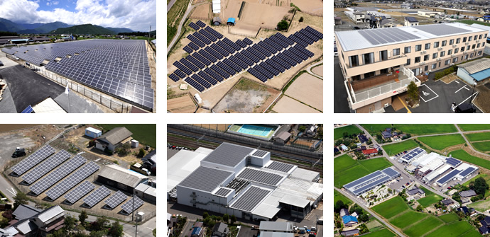 Mega-solar and Industrial solar power generation